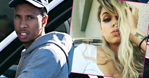 tyga cheated with brazilian model on kylie jenner