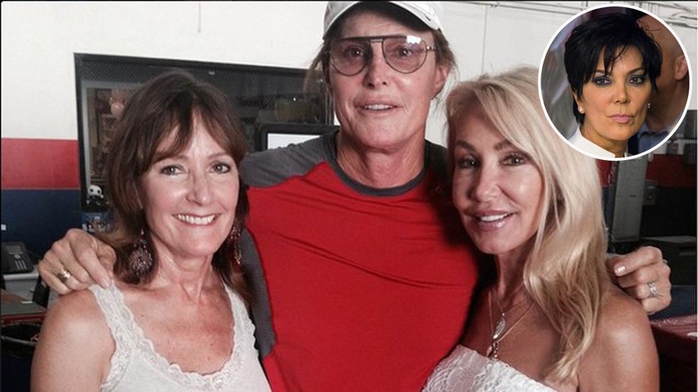 Bruce jenner ex wives kris linda christie 01