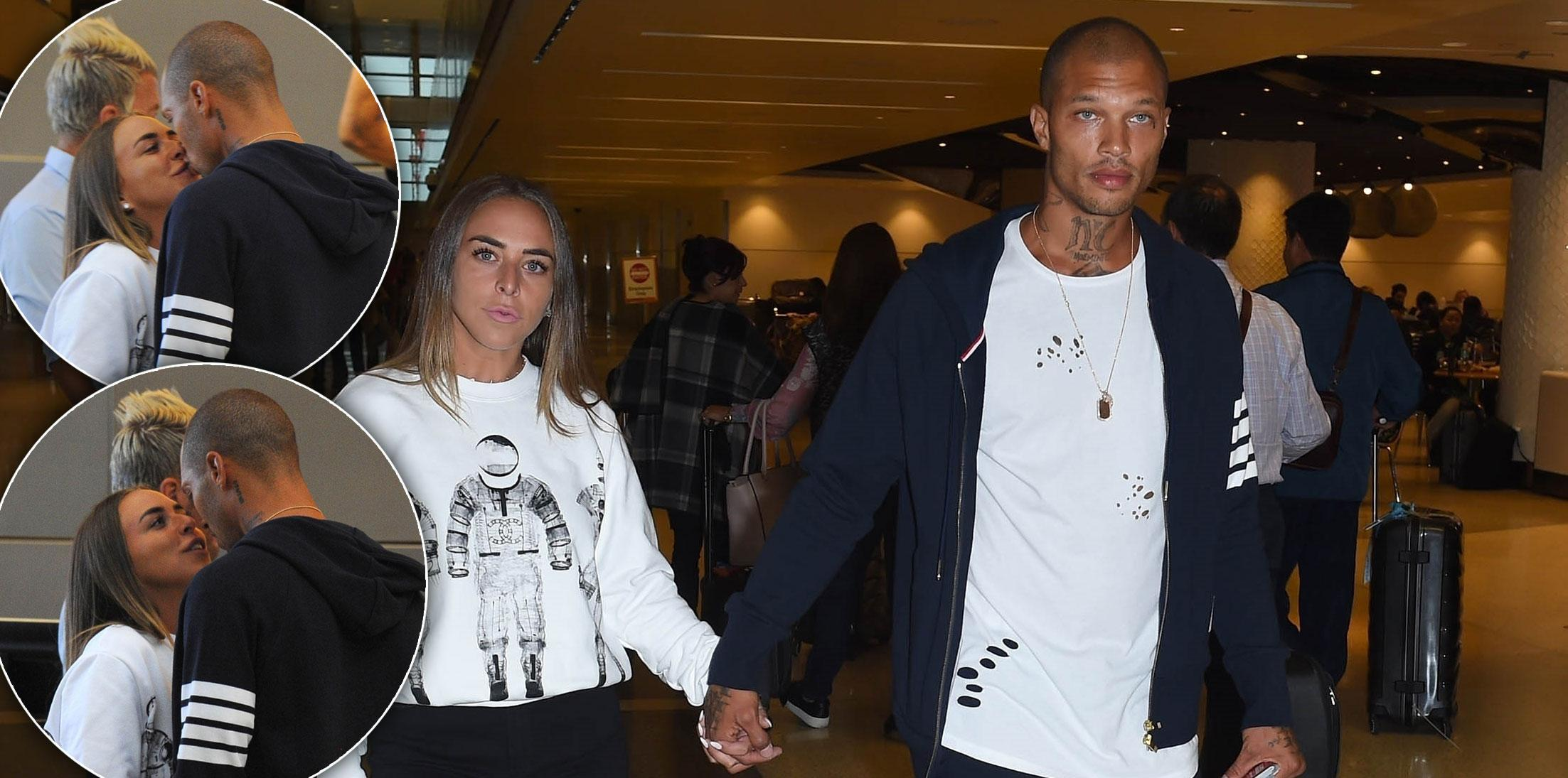 Chloe Green and Jeremy Meeks Jet To Israel