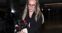Hilary duff puppy lax airport pics