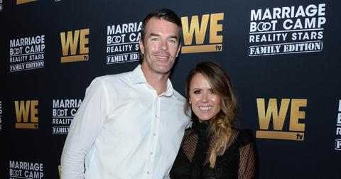 Ryan Sutter and Trista Sutter at the Premiere of Marriage Boot Camp: Family Edition