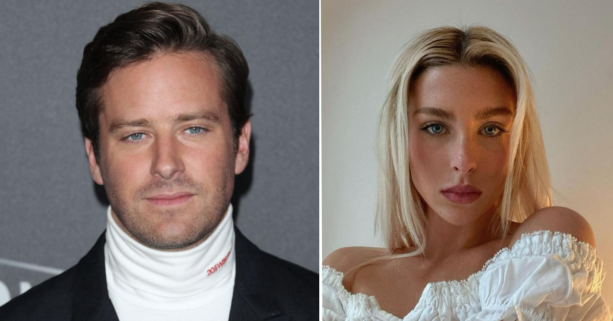 Paige Lorenze Shares More Messages: Armie Hammer Allegedly Told Model Ex He Wanted Her To Be His 'Perfect Little Slave'