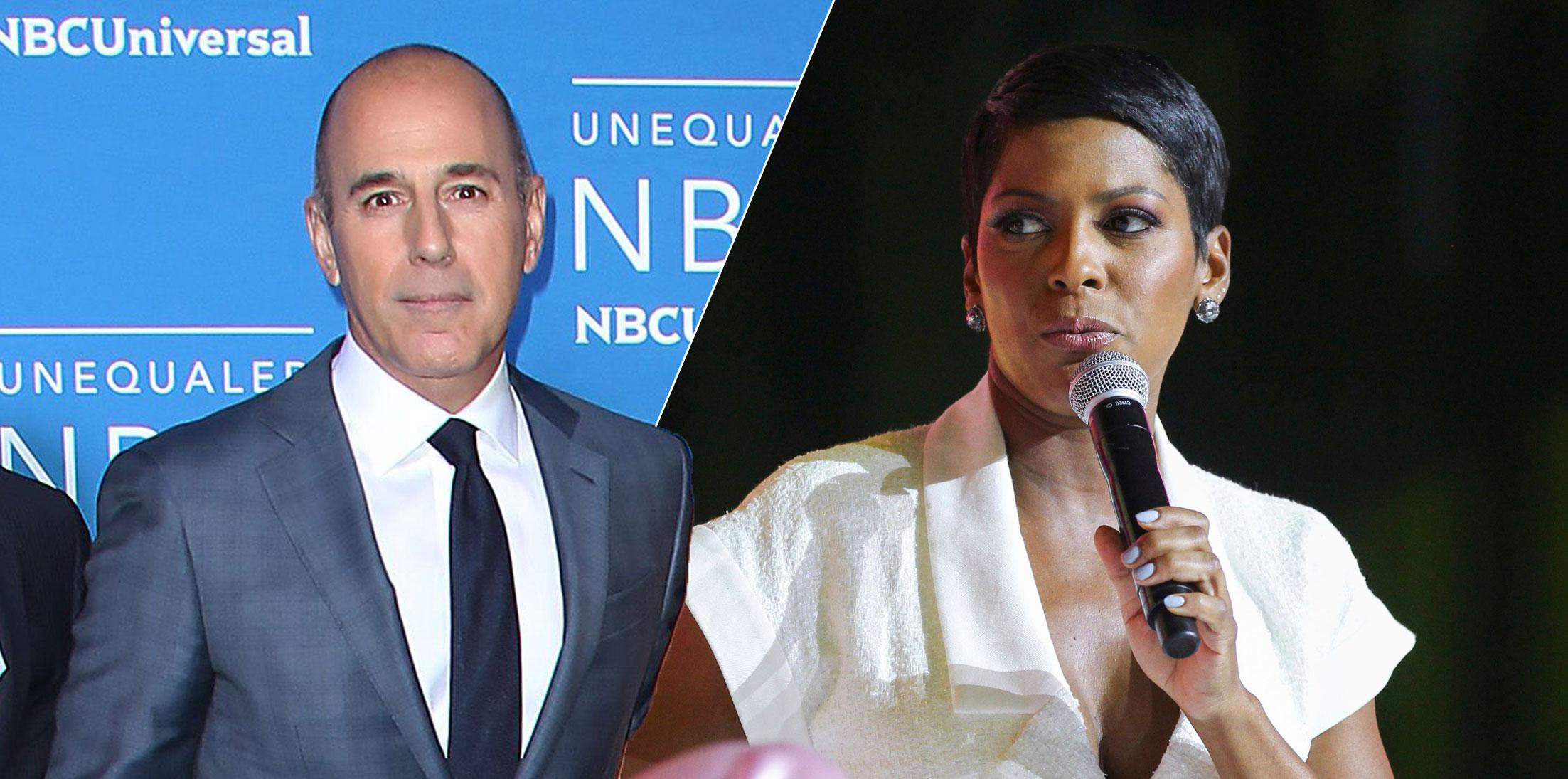 Matt Lauer Planning Interview With 'Today Show' Pal Tamron Hall