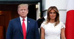 donald trump melania condemned hiding covid  vaccination could have saved lives pf
