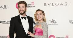Liam and Miley were all smiles at an Oscar watch party in Hollywood.
