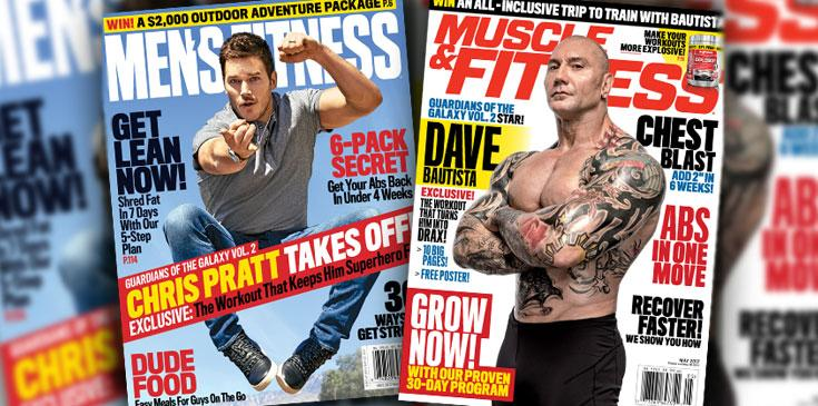 Chris pratt dave bautista mens fitness muscle fitness ok long