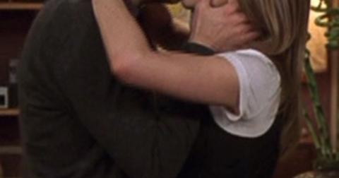 Ross rachel kissing friends finale