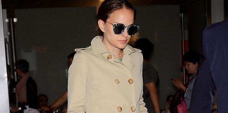 natalie portman pregnant baby number two bump