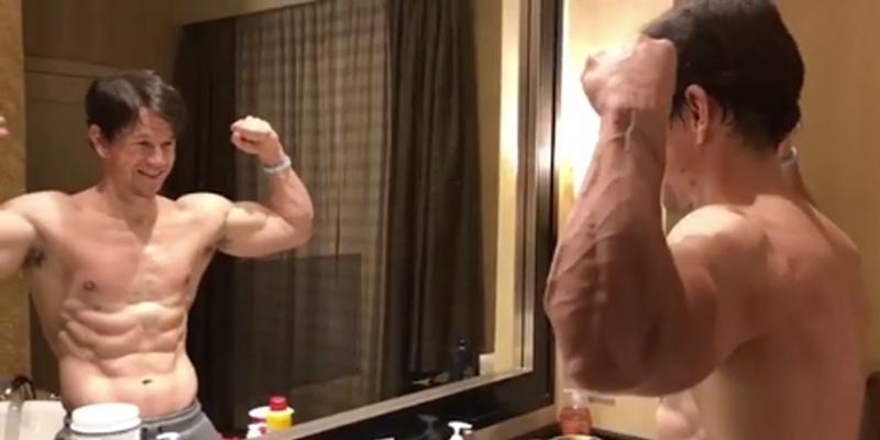 Mark wahlberg fitness secret hot body pics workout video hero