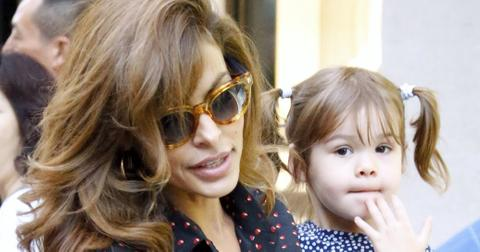 Eva mendes daughter nyc