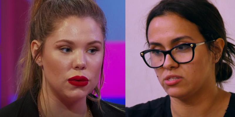Briana dejesus feud kailyn lowry over javi marroquin reunion