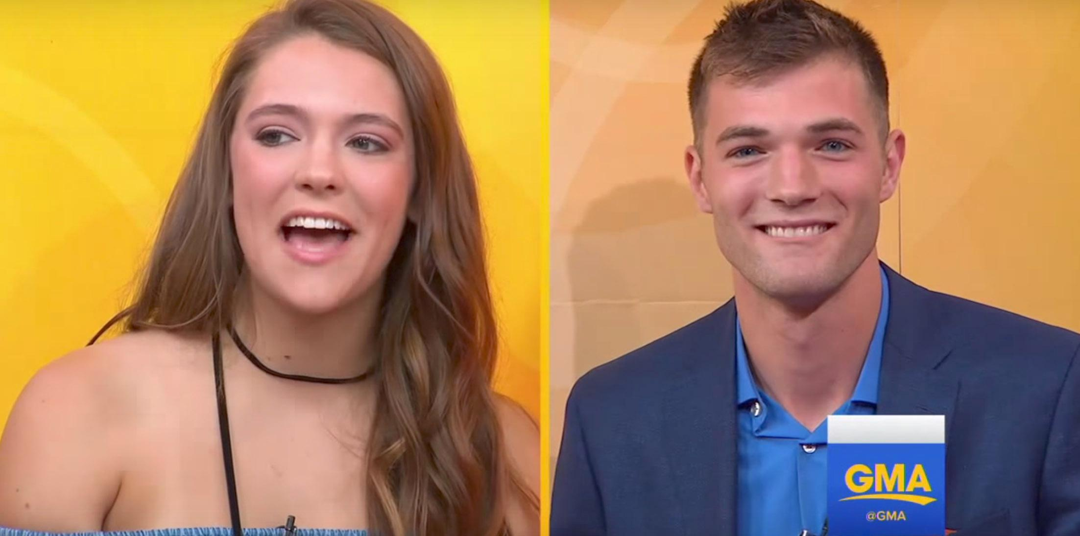 Tinder couple meets three years messaging feature