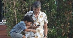 Olivier martinez quality time son maceo halle berry main