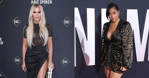 Khloe Kardashian And Jordyn Woods On Red Carpet Biggest Celeb Social Media Feuds 2019
