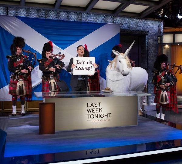 John Oliver explains Scottish Independence on Last Week Tonight