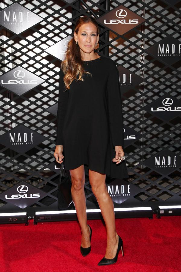 Lexus Design Disrupted Fashion Event Sarah Jessica Parker