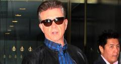 Alan Thicke wears shades after an appearance on 'The Today Show' **USA ONLY**