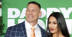 John Cena and Nikki Bella at Los Angeles premiere of 'Daddy's Home 2'