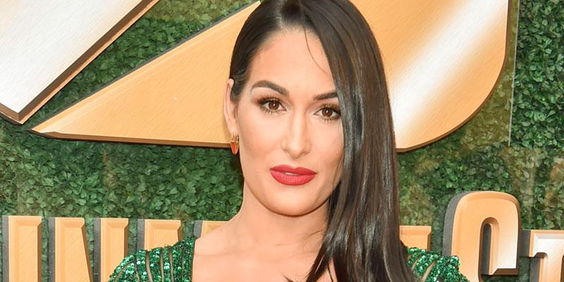 Nikki Bella benefit green dress