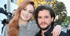 Game Of Thrones Season 7 Premiere Kit Harington Sophie Turner Photos Long