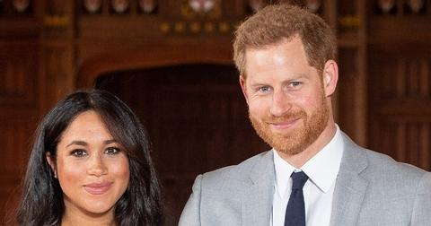 Meghan and Harry Smiling