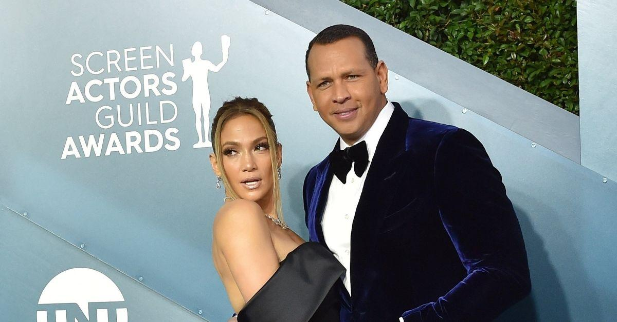 jennifer lopez ended engagement alex rodriguez split trust