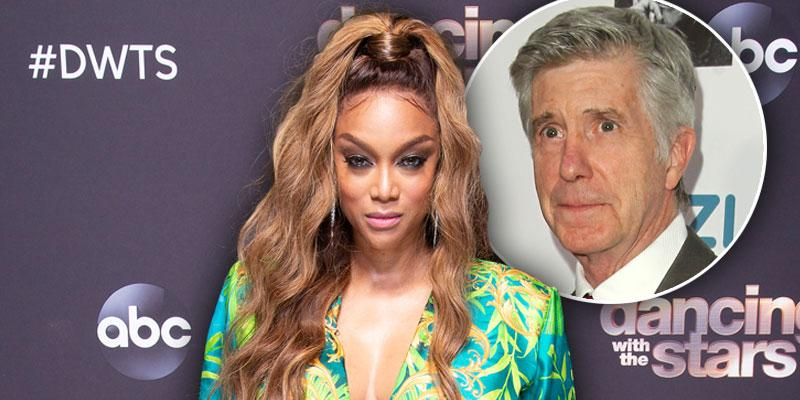 Tyra Banks Is 'Replacing' Staff Loyal To Tom Bergeron On 'DWTS'