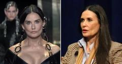 demi moore plastic surgery cry for help fendi runway pf
