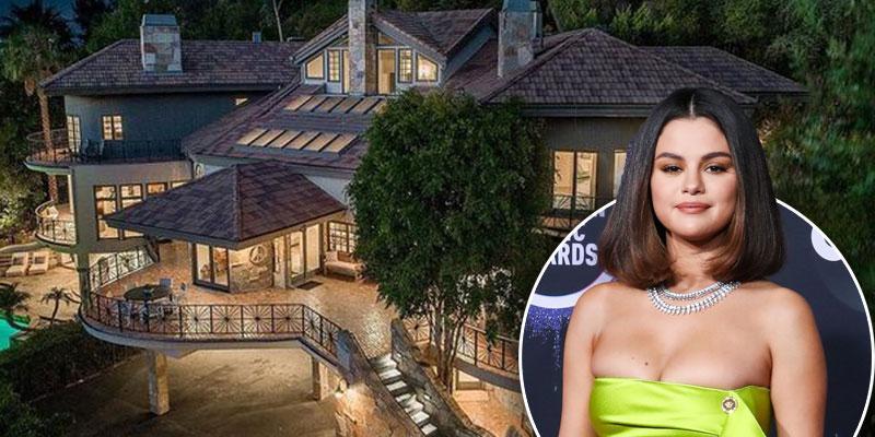//inside selena gomez new encino estate home