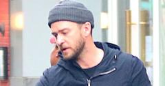 *EXCLUSIVE* Justin Timberlake and Jessica Biel arrive at their NYC home with son Silas