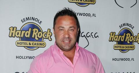 Joe Giudice On Red Carpet
