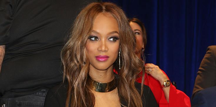 Tyra Banks at The New Celebrity Apprentice Press Conference in LA