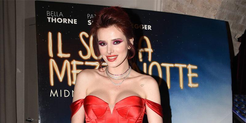 Bella Thorne armpit hair
