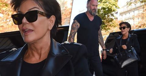 Kris jenner bodyguard hot paris corey gamble engaged