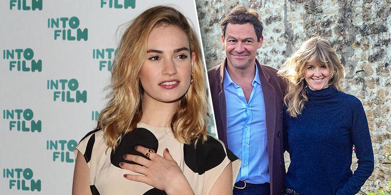 Lily James 'Wanted' Dominic West To 'Go Home' To His Wife After Scandal