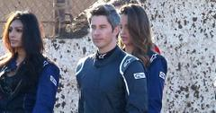 *EXCLUSIVE* Arie Luyendyk Jr. and the ladies of 'The Bachelor' get ready for a demolition derby!