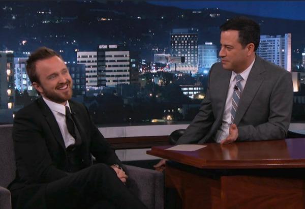Aaron Paul on Jimmy Kimmel Live