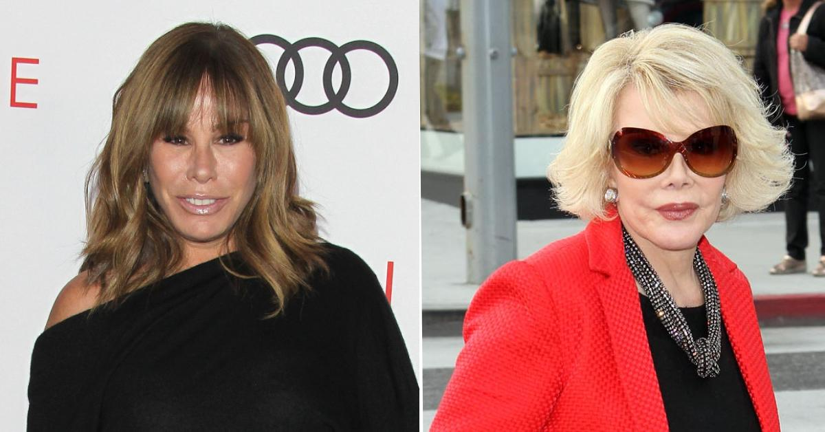 melissa rivers reveals regrets about starting family should have listened to mom joan rivers