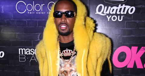 Safaree Samuels neck fracture
