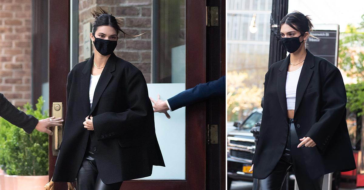 kendall jenner seen in new york city ok