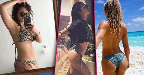 Best bikini celebrity selfies instagram 20171