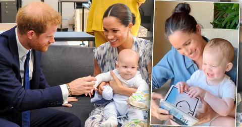 Meghan Markle And Prince Harry's Son Archie Speak For The First Time In Podcast Debut