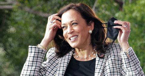 Kamala Harris on the campaign trail