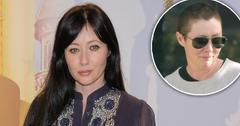 shannen doherty breast cancer hair long