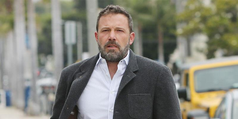 Ben Affleck In Blazer