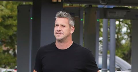 Ant Anstead arriving on 'Extra!