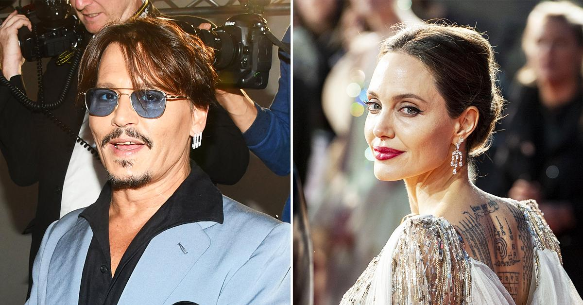 johnny depp crushing angelina jolie perfect for each other
