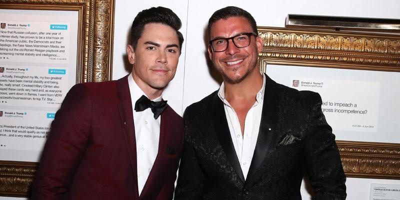 Tom Sandoval And Jax Taylor At An Event