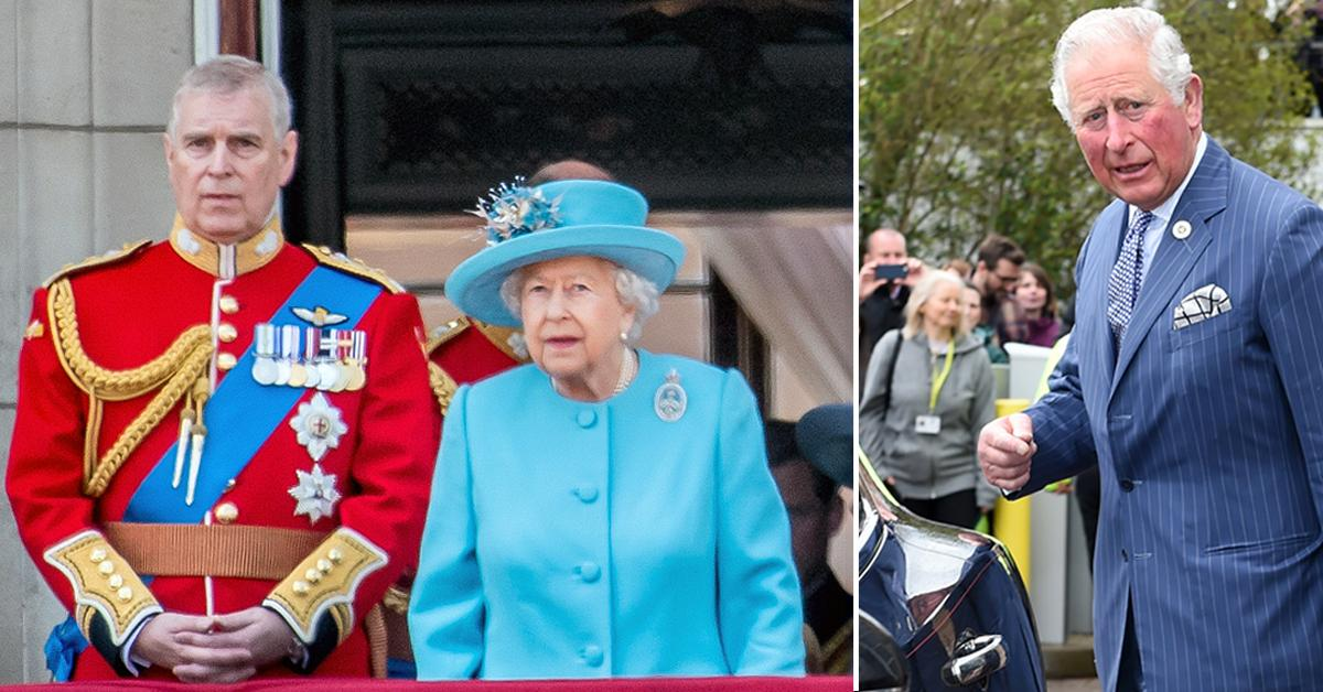 queen elizabeth ii favors prince andrew puzzled prince charles