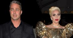Lady Gaga and her fiancÈ Taylor Kinney were seen walking two full blocks to 'No Name ' Restaurant to celebrate Gaga's birthday party in Los Angeles, CA
